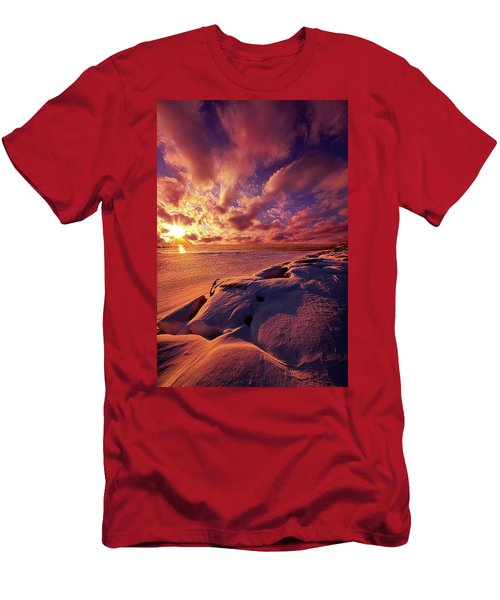 Men's T-Shirt (Slim Fit) featuring the photograph The Return by Phil Koch
