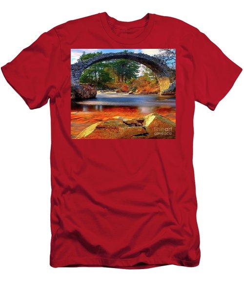 The Rock Bridge Men's T-Shirt (Slim Fit) by Rod Jellison