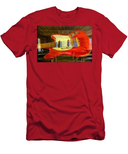 Men's T-Shirt (Slim Fit) featuring the photograph The School Of Rock by David Lee Thompson