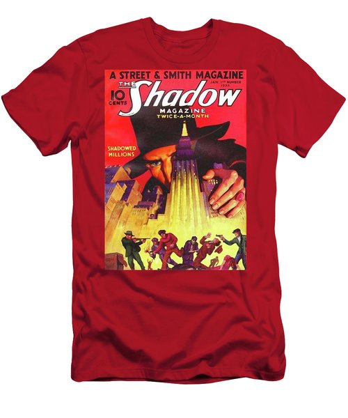 The Shadow Shadowed Millions Men's T-Shirt (Athletic Fit)