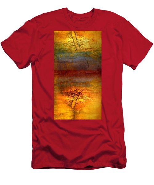 The Soul Dances Like A Tree In The Wind Men's T-Shirt (Athletic Fit)