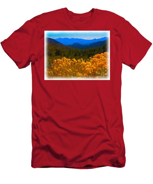 The Spring Mountains Men's T-Shirt (Athletic Fit)