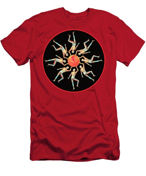 The Sun Dance Men's T-Shirt (Athletic Fit)