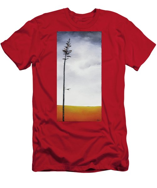 The Trees Are So Tall Here  II     Men's T-Shirt (Slim Fit) by Carolyn Doe