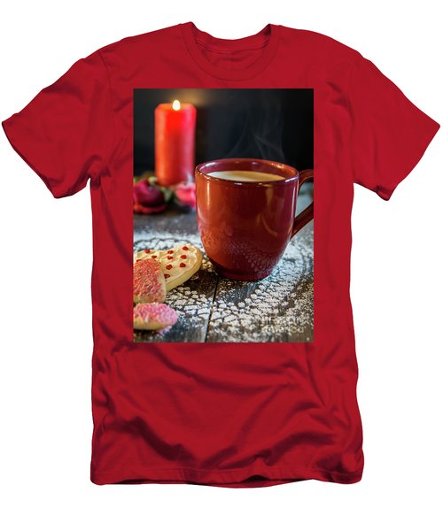 Men's T-Shirt (Slim Fit) featuring the photograph The Warmth Of Our Love by Deborah Klubertanz
