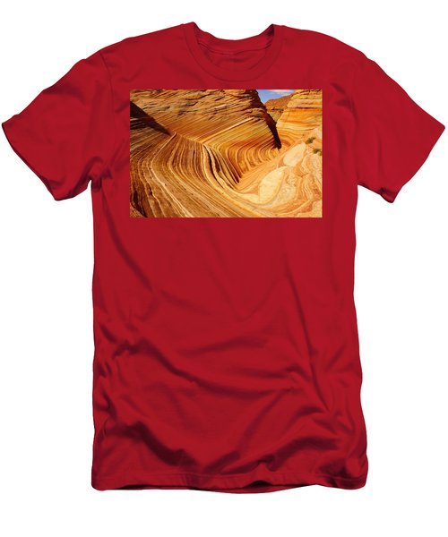 The Side Wave Men's T-Shirt (Athletic Fit)