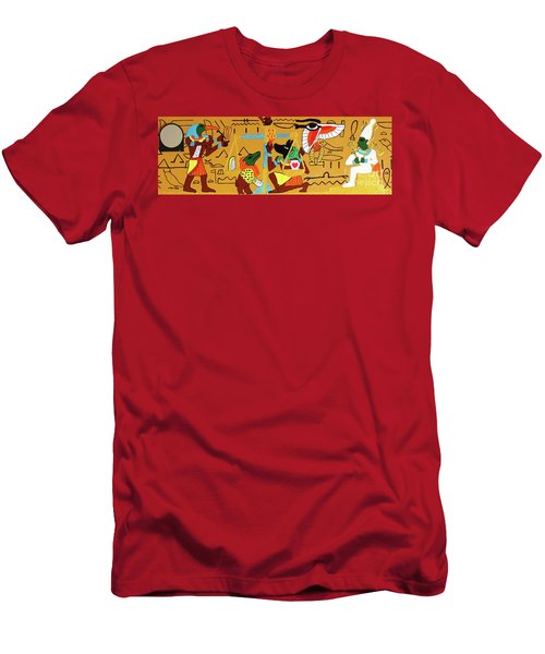 The Weighing Of The Heart Men's T-Shirt (Athletic Fit)