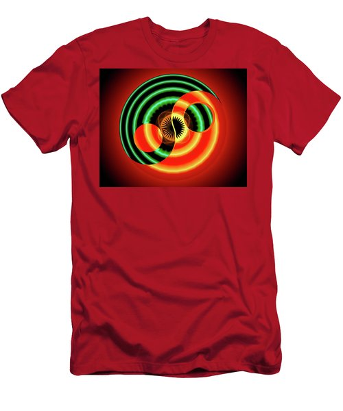 The Yin And The Yang Men's T-Shirt (Athletic Fit)