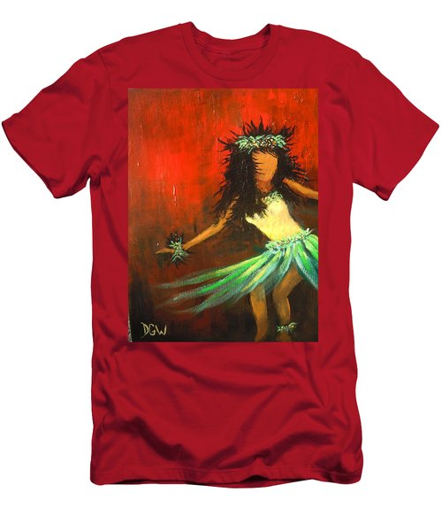 The Young Dancer Men's T-Shirt (Slim Fit) by Dan Whittemore