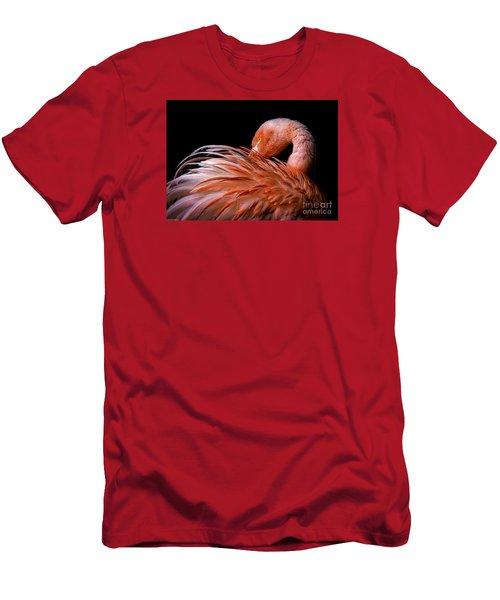 Think Pink Men's T-Shirt (Slim Fit) by Mitch Shindelbower