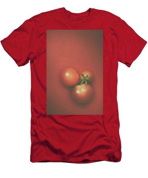 Three Cherry Tomatoes Men's T-Shirt (Athletic Fit)