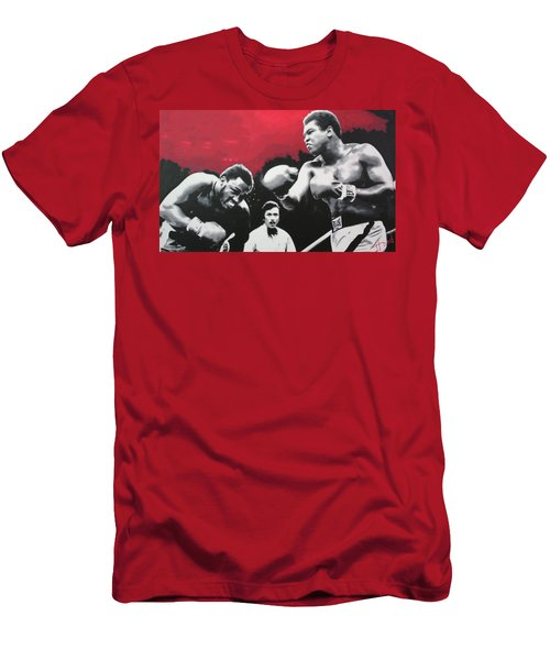 Thrilla In Manila Men's T-Shirt (Athletic Fit)