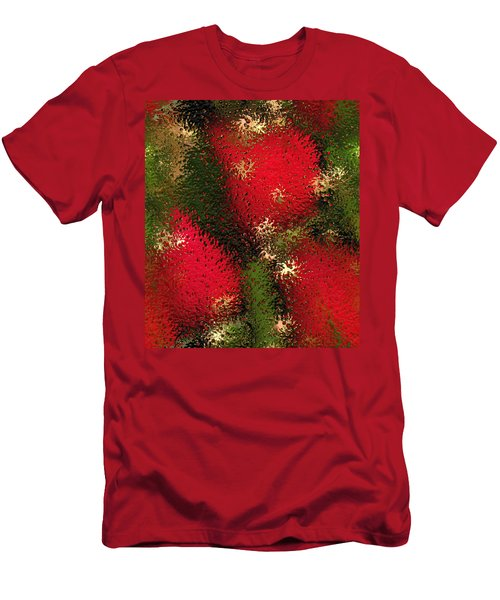 Strawberries Behind  The Glass Men's T-Shirt (Slim Fit)