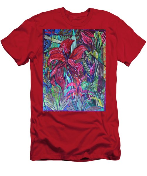 Through The Looking Glass Garden Men's T-Shirt (Athletic Fit)