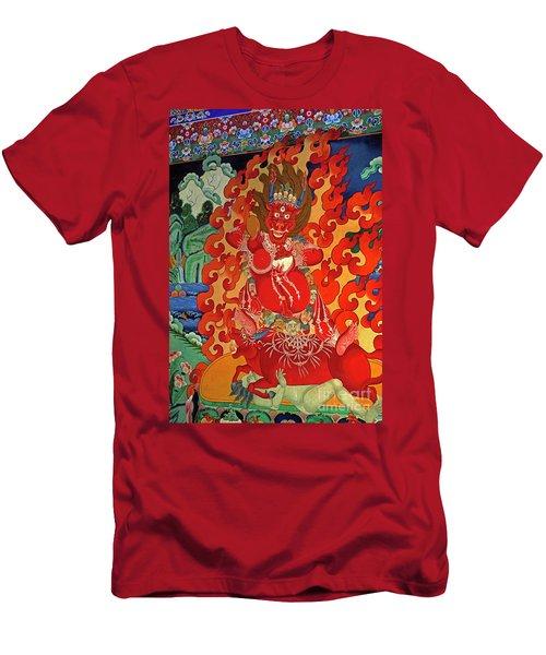 Tibet_190-12 Men's T-Shirt (Athletic Fit)
