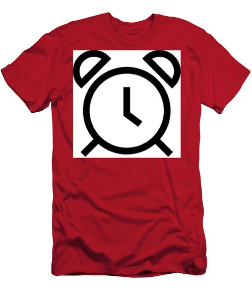 Tick Talk Men's T-Shirt (Athletic Fit)