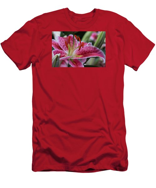 Tigar Lilly Men's T-Shirt (Athletic Fit)