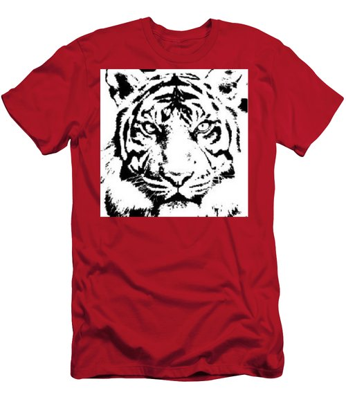Tiger Men's T-Shirt (Slim Fit) by Now
