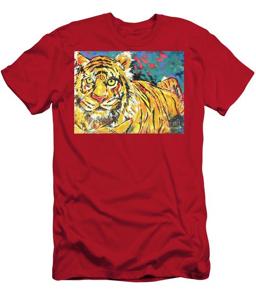 Tiger#1 Zoo Atlanta Men's T-Shirt (Athletic Fit)
