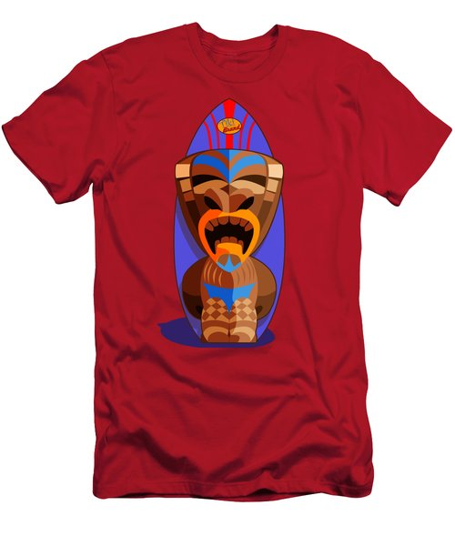 Tiki Brand Surfer Men's T-Shirt (Athletic Fit)