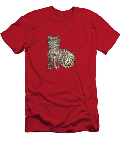Tin Cat Men's T-Shirt (Slim Fit) by YoPedro