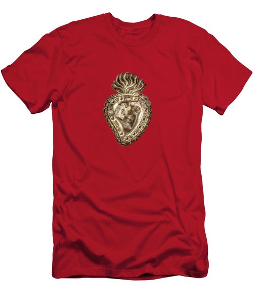 Tin Heart Men's T-Shirt (Athletic Fit)