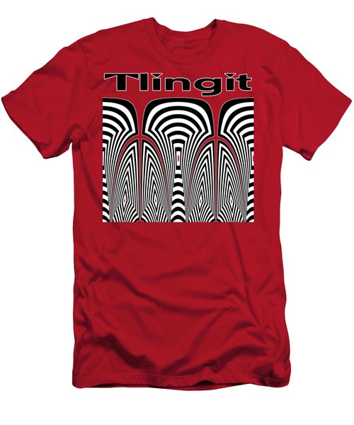 Tlingit Tribute Men's T-Shirt (Athletic Fit)