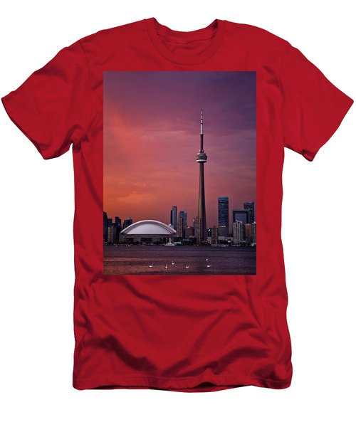 Toronto Sunset Men's T-Shirt (Athletic Fit)