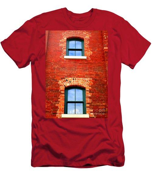 Toronto Windows Men's T-Shirt (Slim Fit) by Randall Weidner