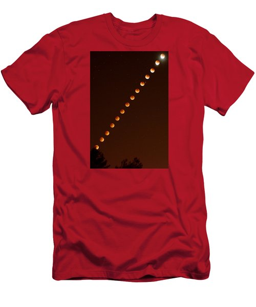 Total Lunar Eclipse September 27 2015 Men's T-Shirt (Athletic Fit)