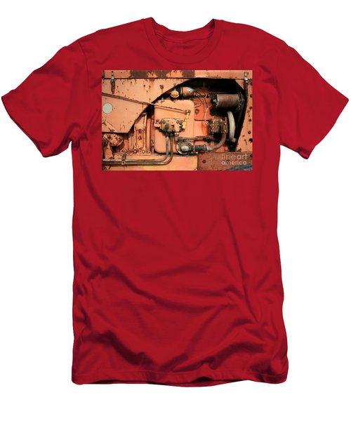 Tractor Engine V Men's T-Shirt (Athletic Fit)