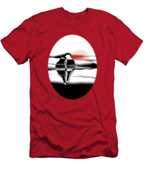 Tranquility Men's T-Shirt (Slim Fit) by AugenWerk Susann Serfezi