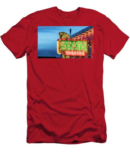 Traverse City State Theatre Men's T-Shirt (Athletic Fit)