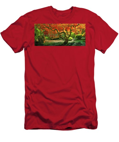 Tree, Japanese Garden Men's T-Shirt (Athletic Fit)