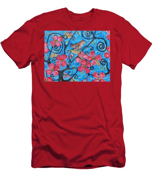 Tree Of Life Men's T-Shirt (Slim Fit) by Reina Resto