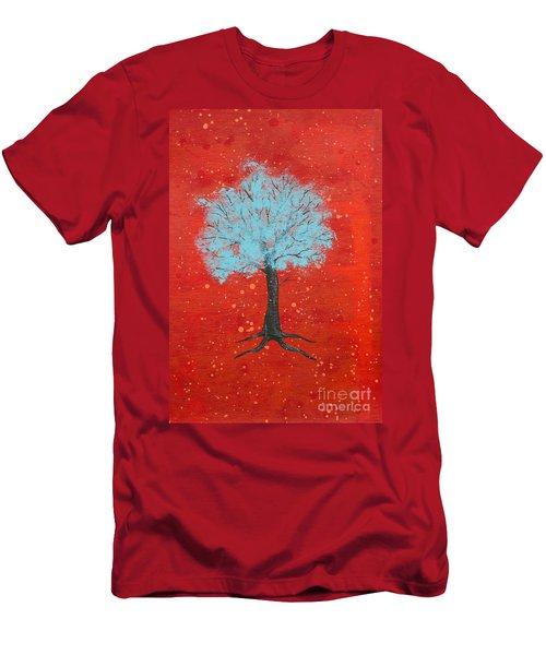 Nuclear Winter Men's T-Shirt (Slim Fit) by Stefanie Forck