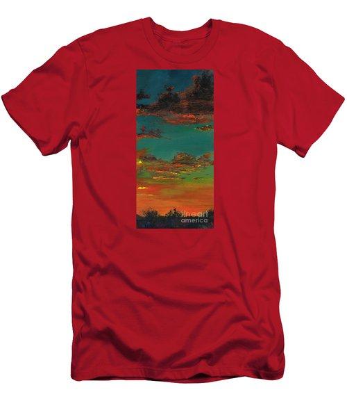 Triptych 3 Men's T-Shirt (Slim Fit) by Frances Marino