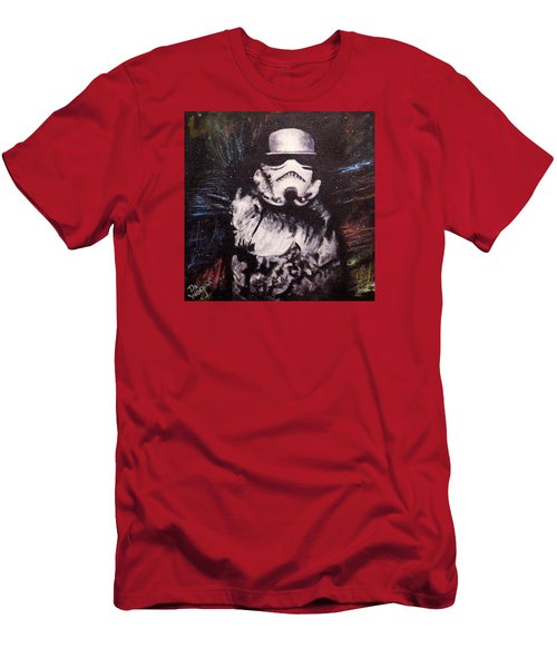 Trooper  Men's T-Shirt (Slim Fit) by Dan Wagner