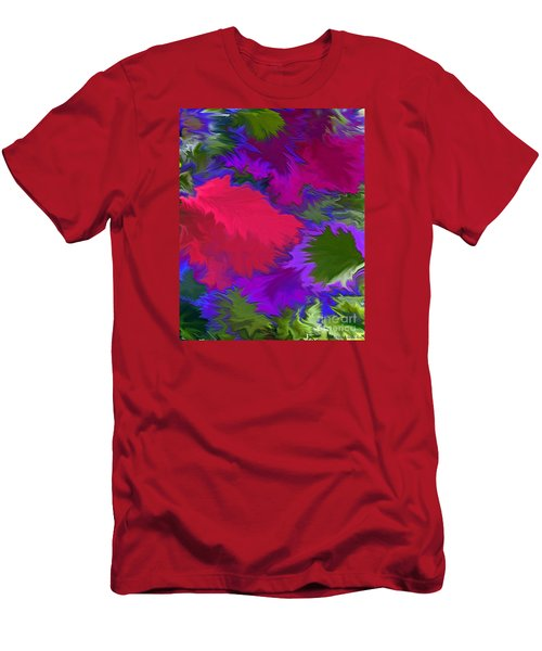 Men's T-Shirt (Slim Fit) featuring the photograph Tropicana by Patricia Griffin Brett