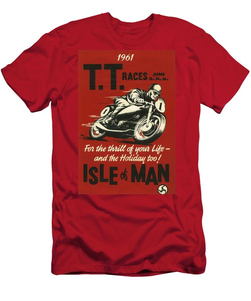 Tt Races 1961 Men's T-Shirt (Athletic Fit)