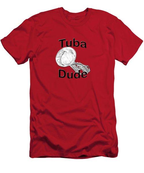 Tuba Dude Men's T-Shirt (Athletic Fit)