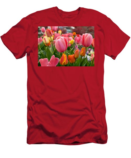 Tulip Bed Men's T-Shirt (Athletic Fit)