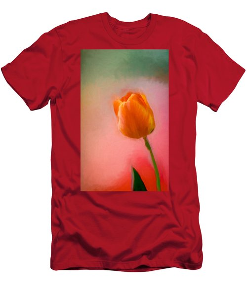 Tulip On The Porch Men's T-Shirt (Athletic Fit)