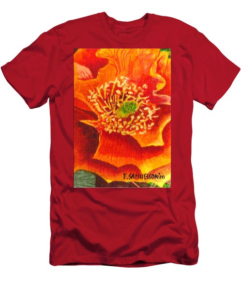 Tulip Prickly Pear Men's T-Shirt (Athletic Fit)