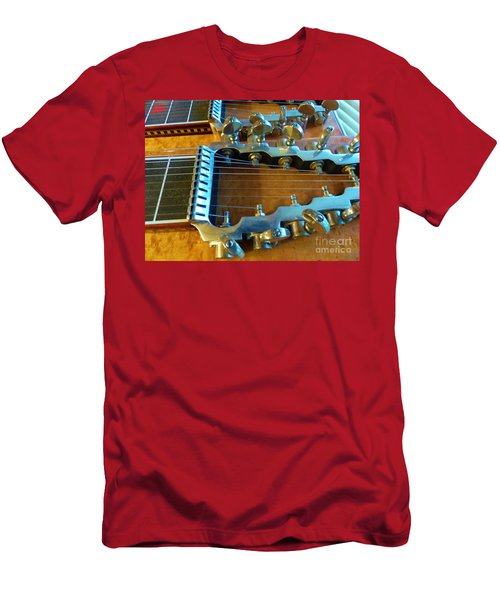 Tuning Pegs On Sho-bud Pedal Steel Guitar Men's T-Shirt (Athletic Fit)