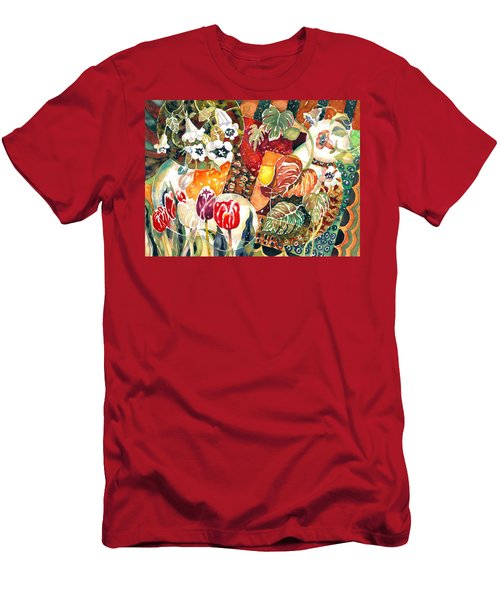 Turkish Garden Men's T-Shirt (Athletic Fit)