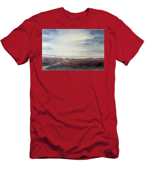 Twilight Settles On The Moors Men's T-Shirt (Athletic Fit)