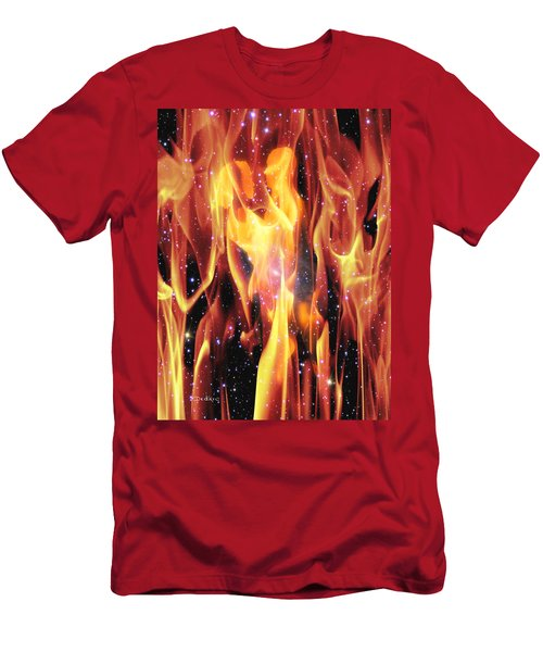 Twin Flames Men's T-Shirt (Athletic Fit)