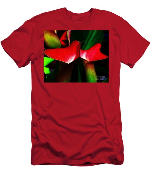 Men's T-Shirt (Slim Fit) featuring the photograph Twins by Elfriede Fulda