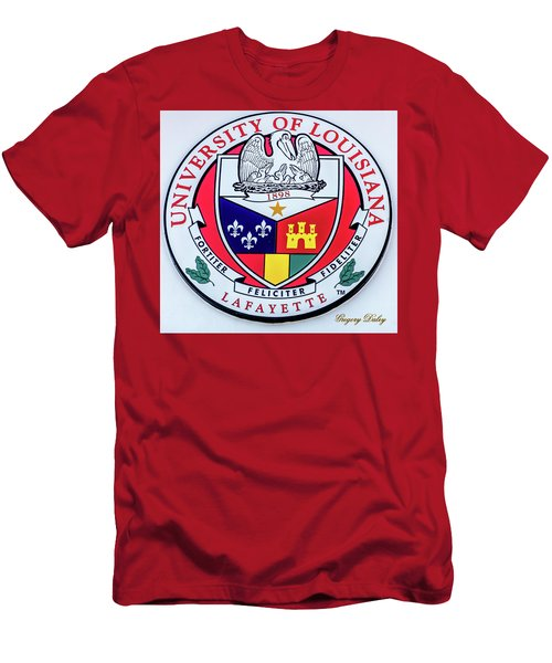 Men's T-Shirt (Slim Fit) featuring the photograph Ul Seal by Gregory Daley  PPSA